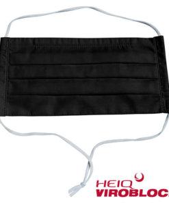 Heiq Viroblock Maske Schwarz Black
